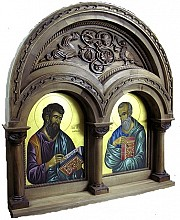 Detail from new Iconostasis