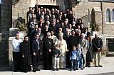 Assembly delegates with Bishop Mitrofan